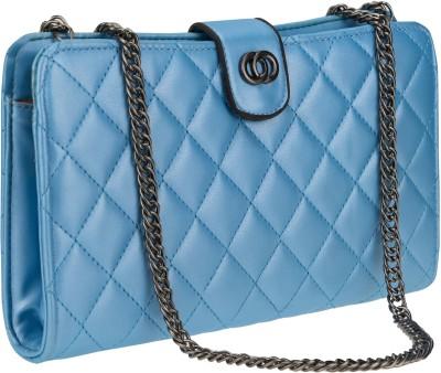 Kaos Girls, Women Blue PU Sling Bag