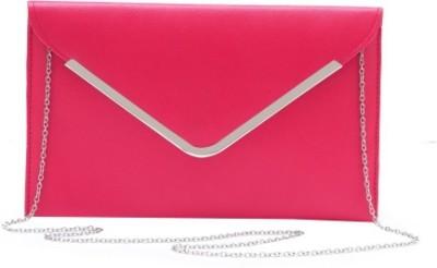 StyleSaga Girls Pink PU Sling Bag