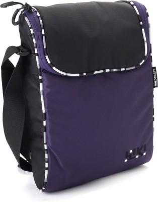 Wildcraft Women Casual Purple Polyester Sling Bag