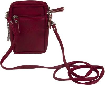 Merci Girls Casual Red PU Sling Bag