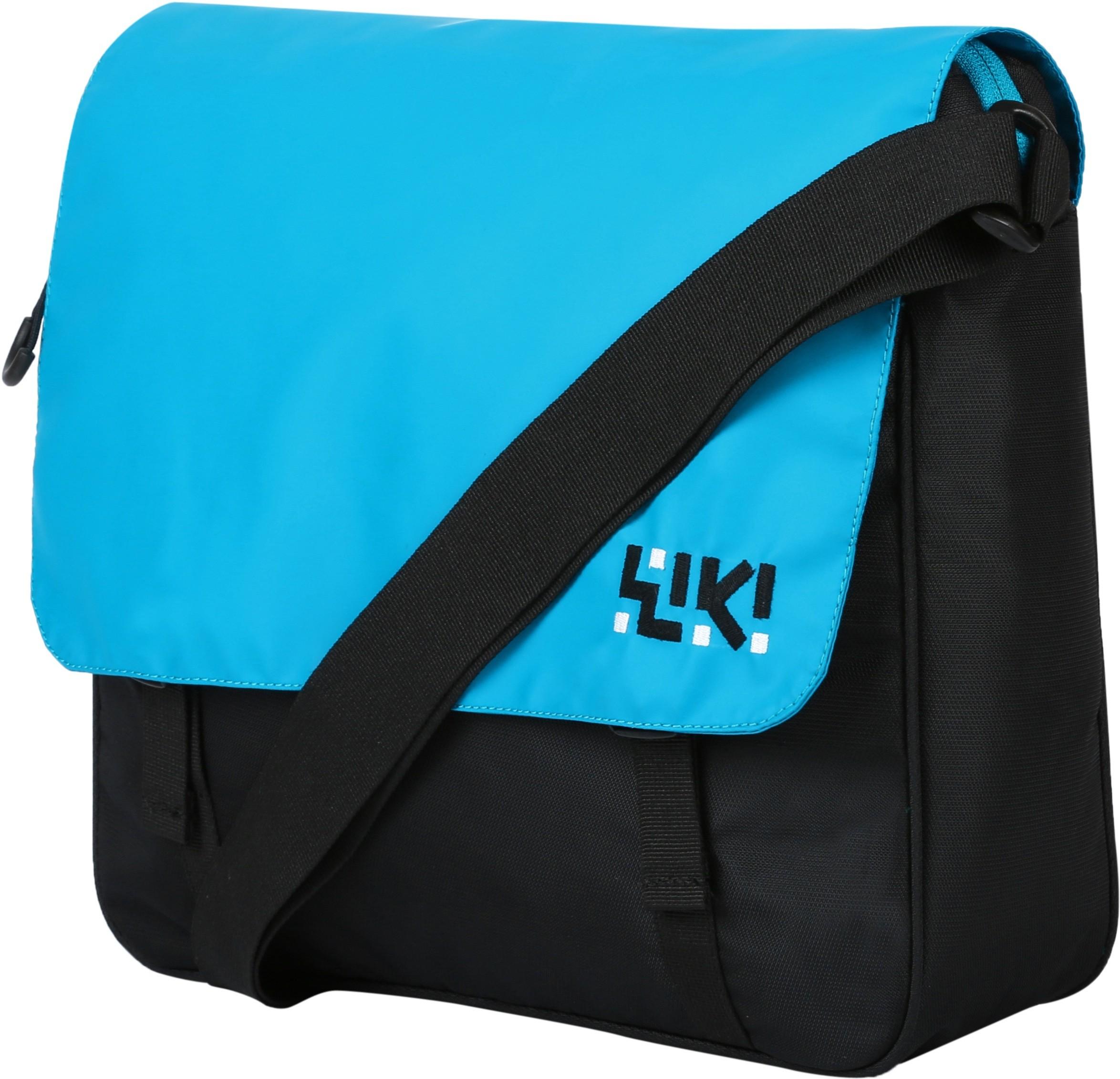 b1a659793 Wildcraft Women Casual Blue Nylon Sling BagWildcraft Women Casual Blue  Nylon Sling Bag