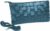 Just Women Women Casual Blue PU Sling Bag