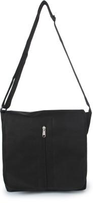 Kaartik24 Girls Casual Black PU Sling Bag