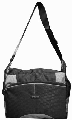 Navigator Men, Women Casual Black, Grey PU Sling Bag