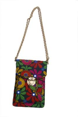 Craft Trade Girls Multicolor Cotton Sling Bag