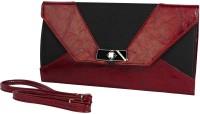 Just Women Women Casual Red PU Sling Bag