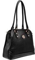 JFL - Jewellery for Less Girls Black Genuine Leather Shoulder Bag