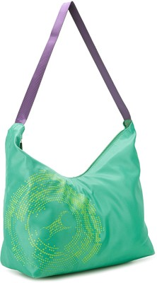 Fastrack Women Casual Green PU Sling Bag