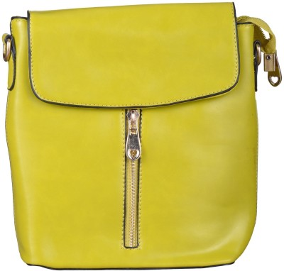 JAGADHARTI Girls Green Velvet Shoulder Bag