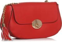 ToniQ Women Red PU Sling Bag