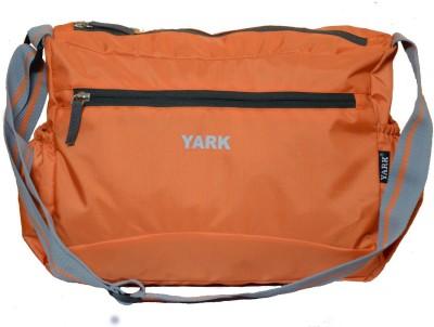 Yark Girls Casual Orange Polyester Sling Bag