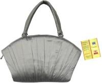 Tantu Women Silver Silk Hand-held Bag