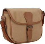 Crapgoos Women Brown Canvas Sling Bag