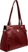JFL - Jewellery for Less Women Red Genuine Leather Shoulder Bag