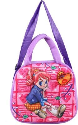 FabSeasons Boys, Girls Casual Purple Cotton Sling Bag