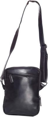 iva Women, Girls Black Leatherette Sling Bag