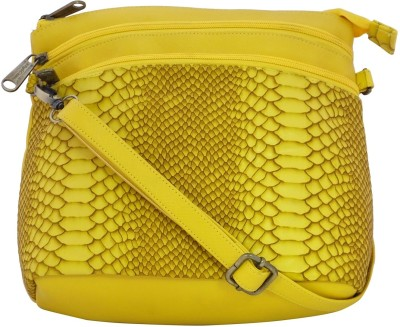Stylocus Women Casual Yellow Sling Bag