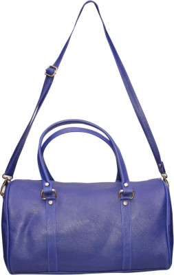NAAZ BAGS COLLECTION Women Blue Rexine Sling Bag