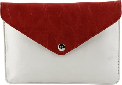 Kraasa Women Casual Red, White Silicon Sling Bag
