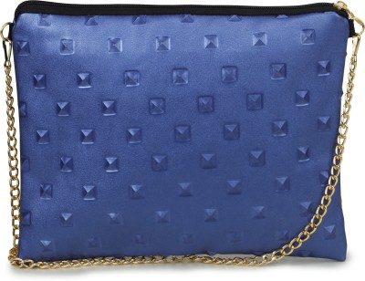 Unixx Girls Casual Blue PU Sling Bag