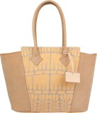 Rub & Style Women Beige Genuine Leather ...