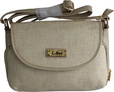 ALTG Girls, Women Beige Leatherette Sling Bag