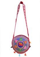 Ruff Women Multicolor Cotton Sling Bag