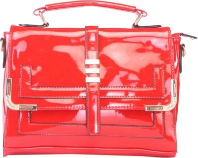 Alibao Women, Girls Casual Red PU Sling Bag