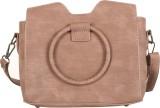 Aquila Women Brown PU Sling Bag