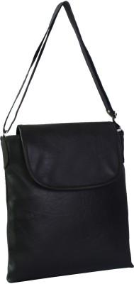 Gioviale Men, Women Formal Black PU Sling Bag