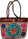 Vedic Deals Women Brown Canvas Sling Bag