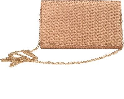 Mese Women Gold PU Sling Bag