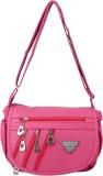 Cottage Accessories Women Pink PU Sling ...