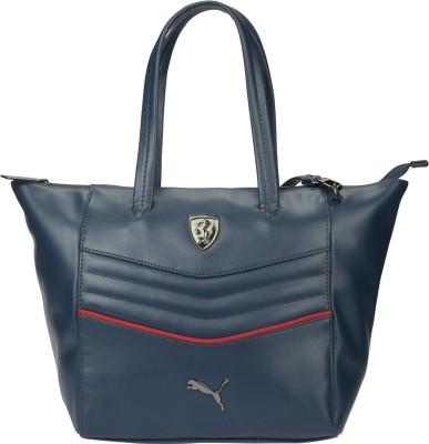 Puma Women Blue PU Shoulder Bag
