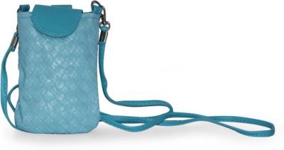 Fab Fashion Women, Girls Blue PU Sling Bag