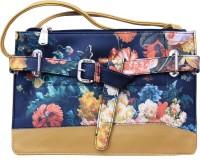 Charu Boutique Women Yellow Leatherette Sling Bag