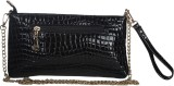 Riti Women Black PU Sling Bag