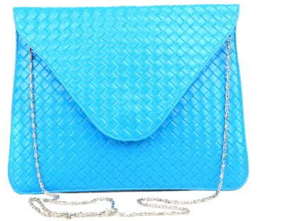 Just Women Girls Casual Blue PU Sling Bag