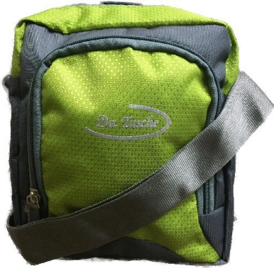 Da Tasche Boys, Girls Green Polyester Sling Bag