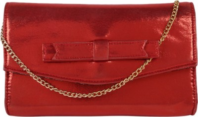 Berrypeckers Women Evening/Party Red PU Sling Bag