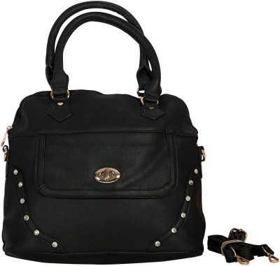 Parv Collections Women Black PU Tote
