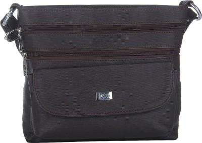 Dice Women Casual Brown PU Sling Bag