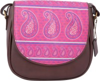 Mad in India Women Multicolor PU Sling Bag