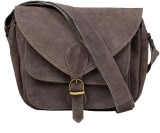 Hobo Women Grey Genuine Leather Sling Ba...