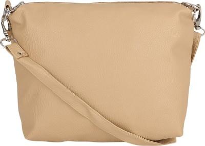 Borse Women Casual Beige PU Sling Bag