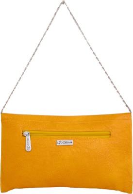 Cheery Women Yellow PU Sling Bag