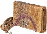 Fashion Spark Women Brown PU Sling Bag