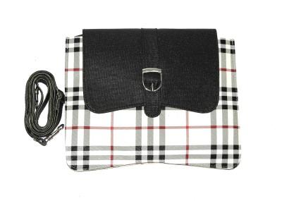 ShopperzGuide Girls, Women White PU Sling Bag