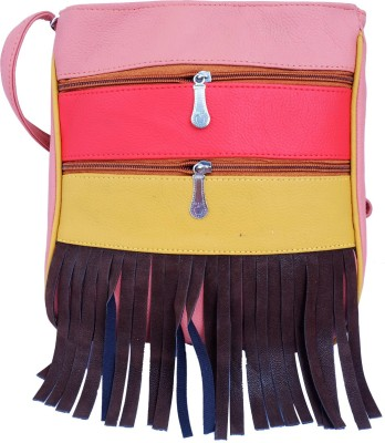 Super Drool Women, Girls Multicolor PU Sling Bag