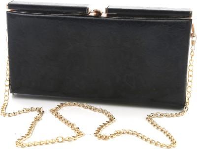 Foolzy Girls Black Leatherette Sling Bag